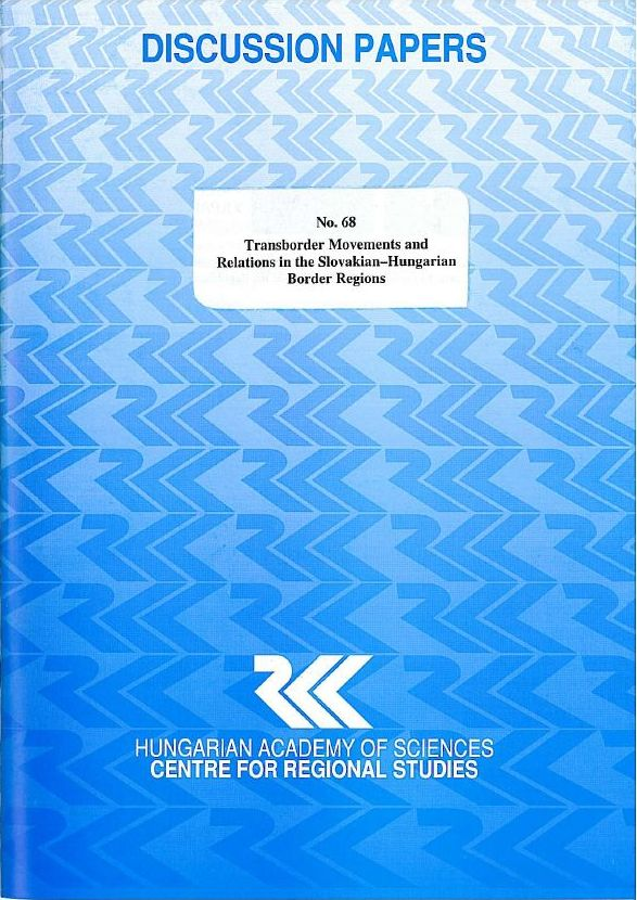 cover_Transborder Movements and Relations in the Slovakian-Hungarian Border Regions